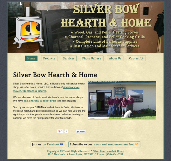 Silver Bow Hearth and Home