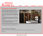 Professional Services - Frugal Frame Shop