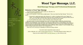 Wood Tiger Massage, LLC